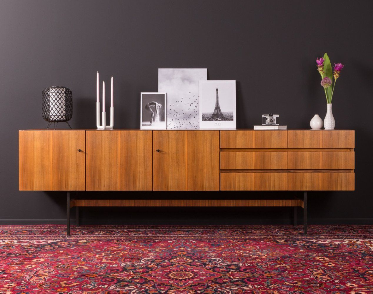For Sale Walnut Sideboard By Musterring Germany 1960s Sideboard Walnut Sideboard Sideboard Storage