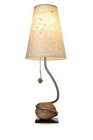 23 Simple Design Tips That Will Make Your Home Less Stressful Rock Lamp Contemporary Table Lamps Table Lamp