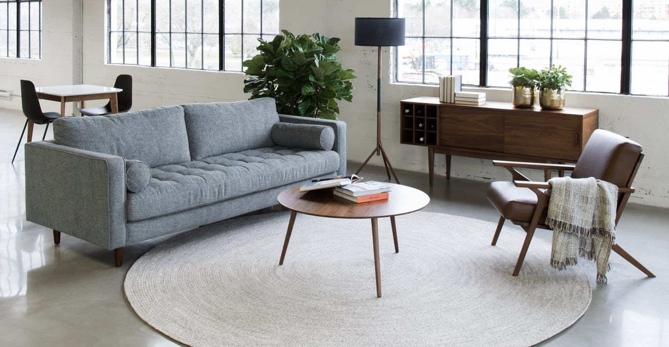 Theres a reason this is our most popular sofa this modern take on a mid