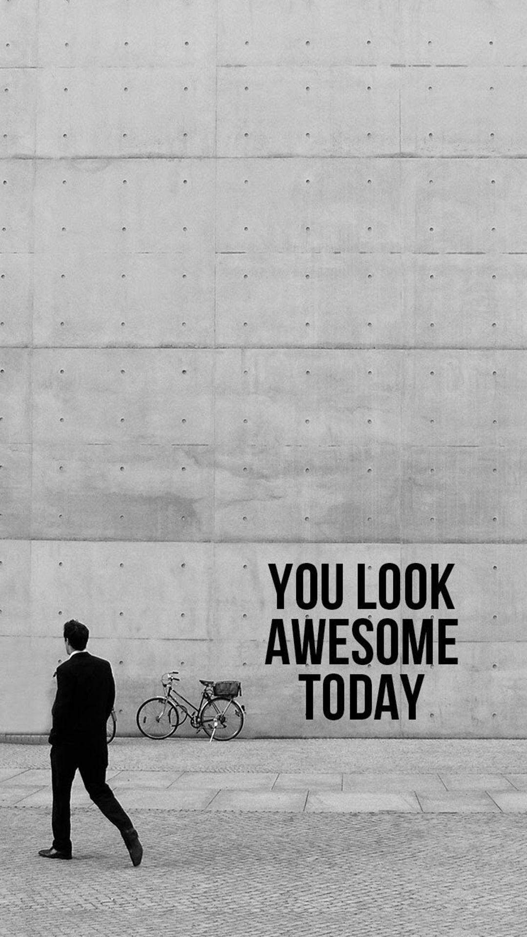 You Look Awesome Today iPhone wallpaper Wallpapers Pinterest