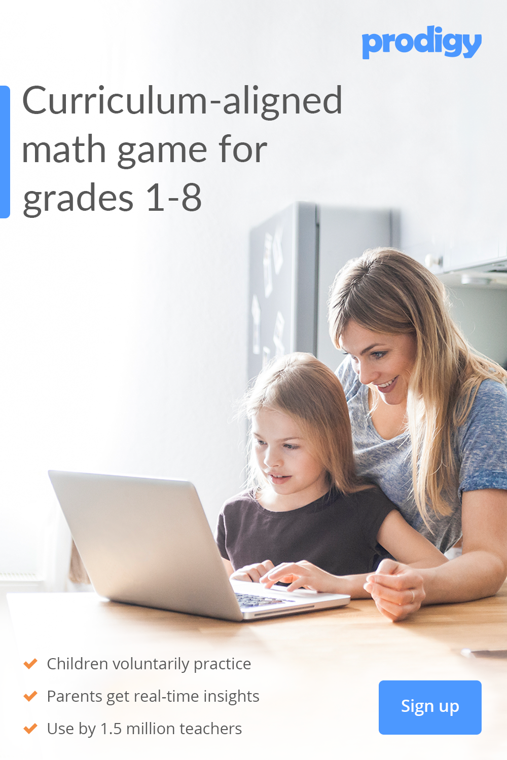 Parents motivate your child's math learning with Prodigy