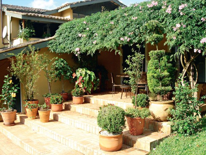jardim de casa