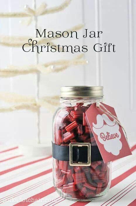 jar gift ideas | Mason jar gift