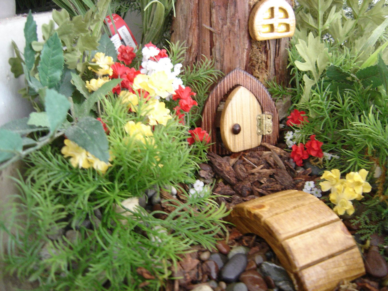Fairy Door Gnome Door Hobbit Door Elf Door Troll Door 3 Tall