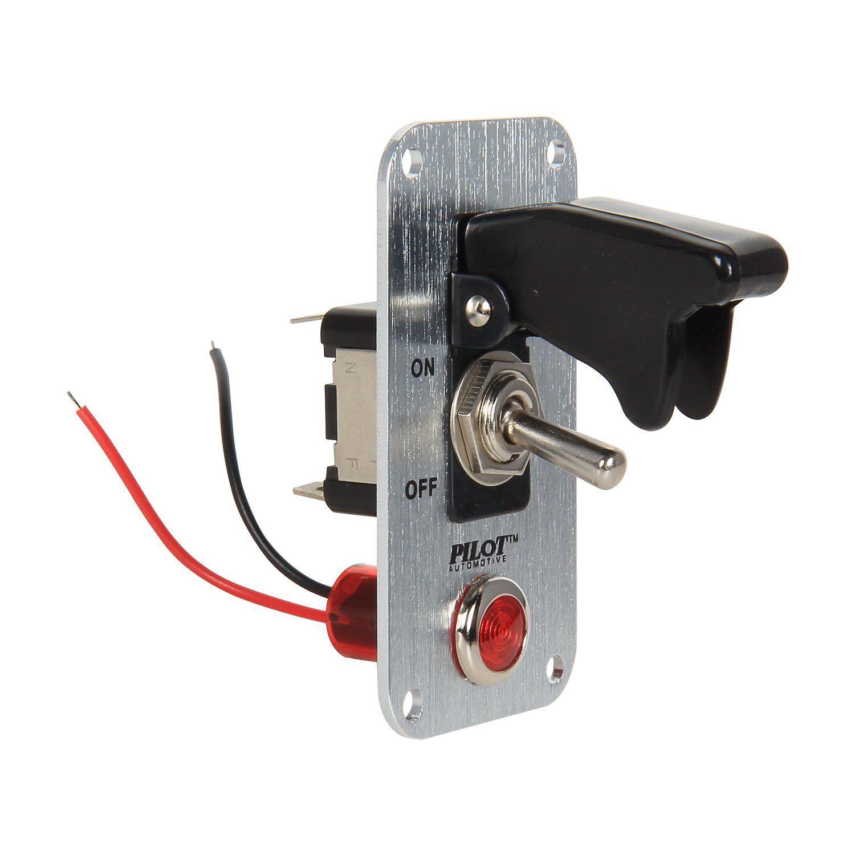 Led Toggle Switch Small 12v Automotive Toggle Switch Plate Switch Plates Switch Plate Covers Led Light Switch