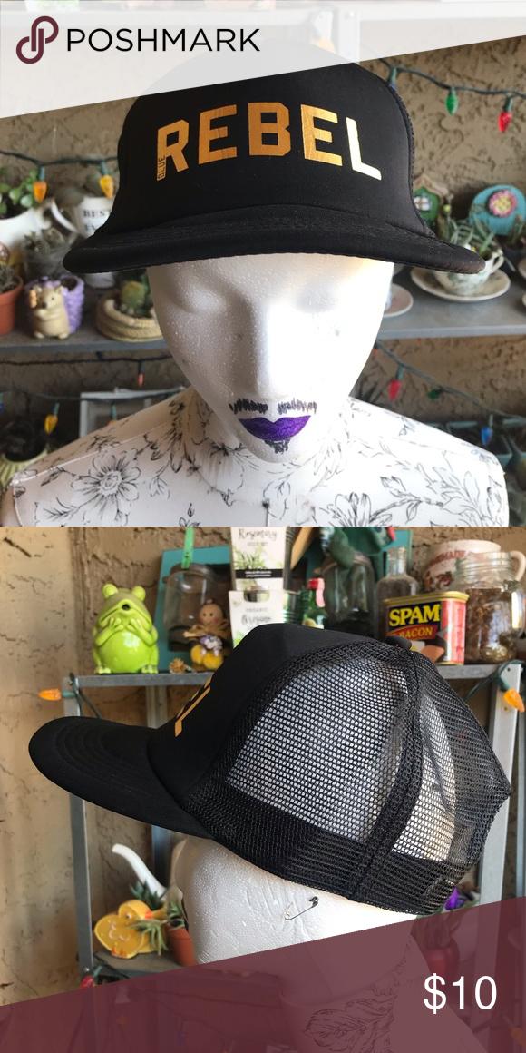 DISTRICT / Dutch Bros Blue REBEL Hat / Black