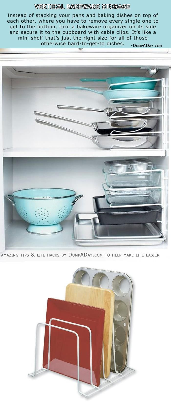 Simple Storage Ideas That Are Borderline Genius - 10 Pics ...