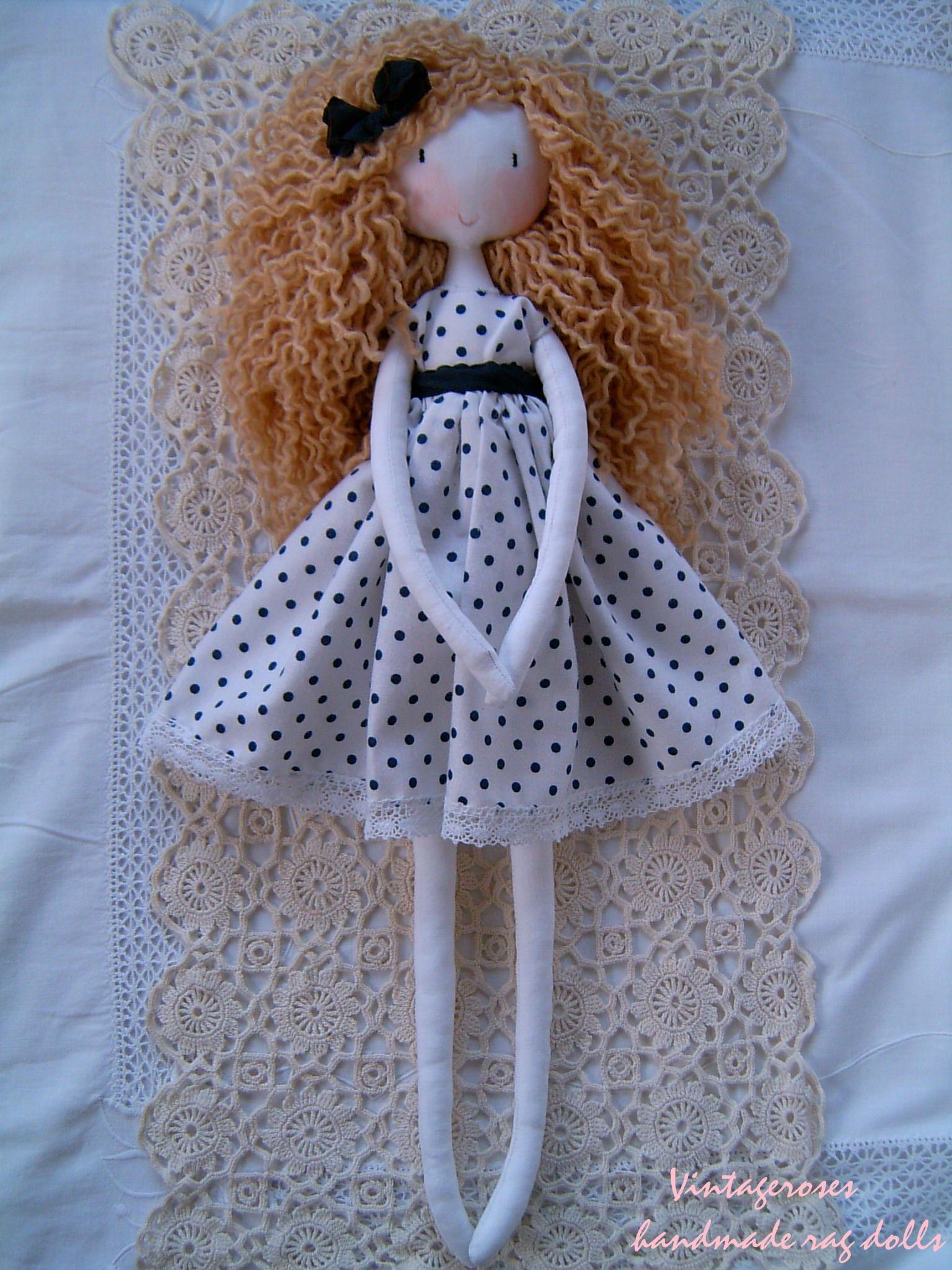 Handmade rag doll #dollies