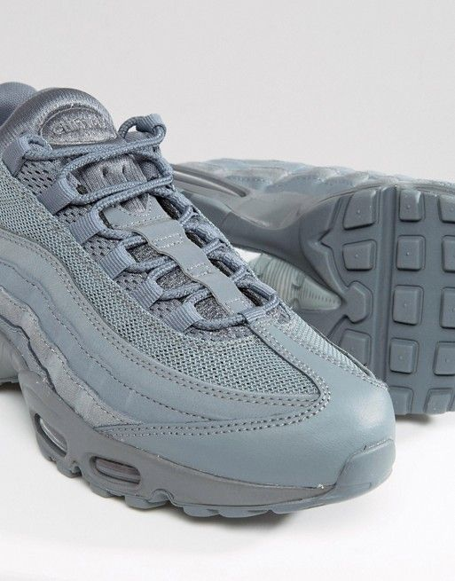 Nike Air Max 95 Essential Trainers In Grey 749766-012  9490872566