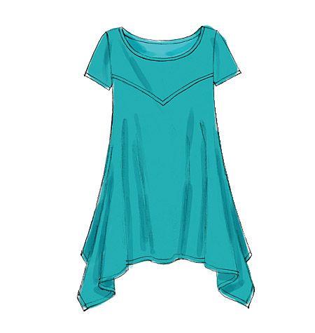 d78f0ffa plus sized tunic patterns | M6398 | Misses'/Women's Tunics | Plus Size |  McCall's Patterns