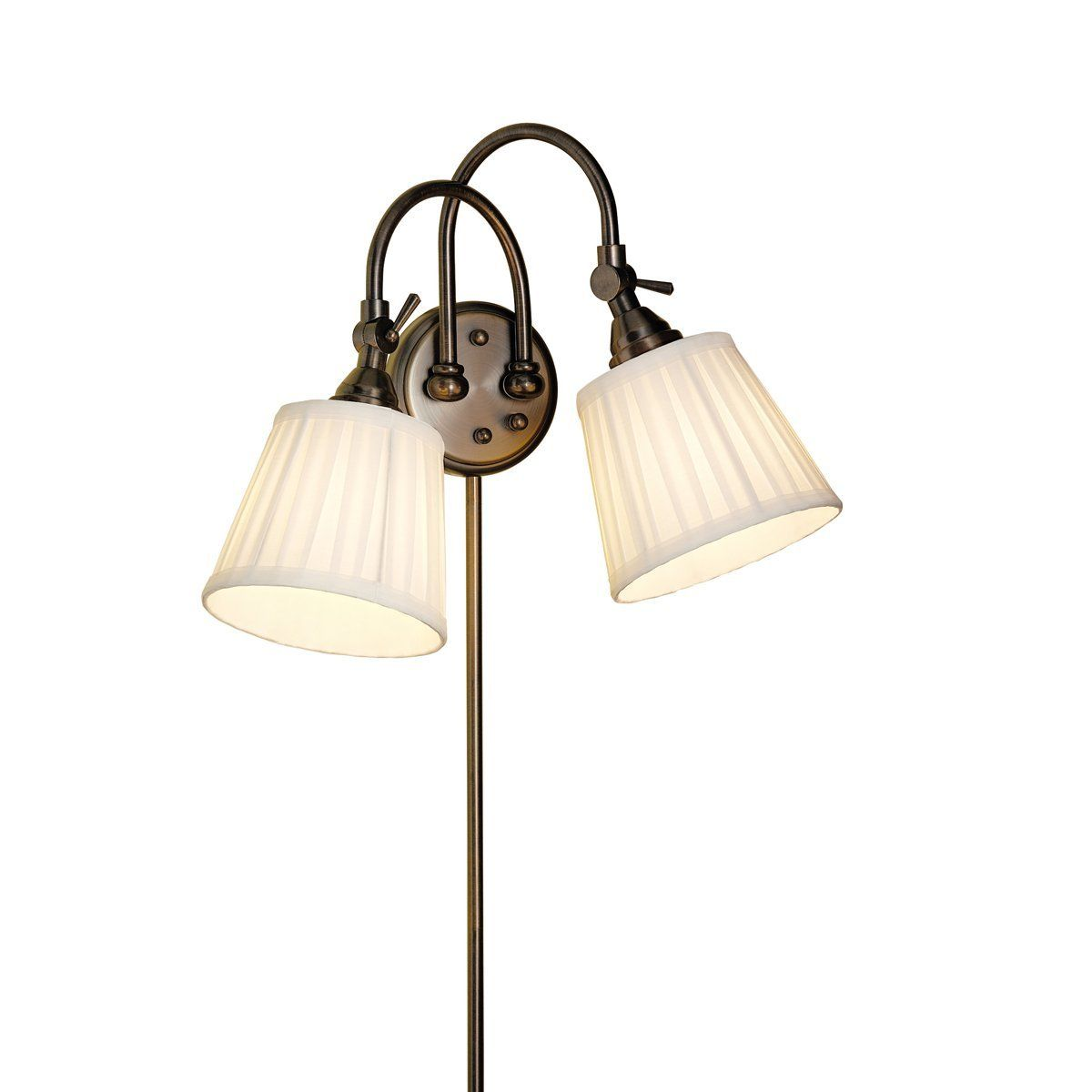 Kichler lighting 78012bbz blaine 36 inch portable adjustable 2 light kichler lighting 78012bbz blaine 36 inch portable adjustable 2 light wall sconce burnished aloadofball