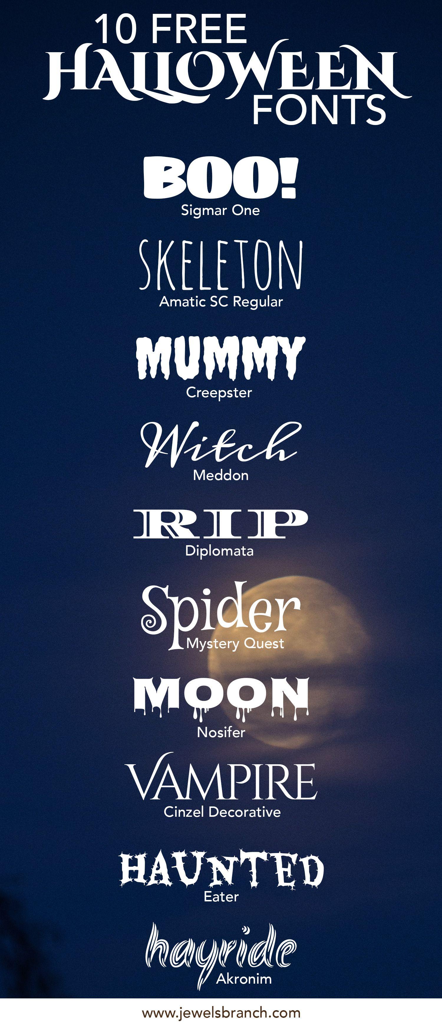 free halloween fonts # 27