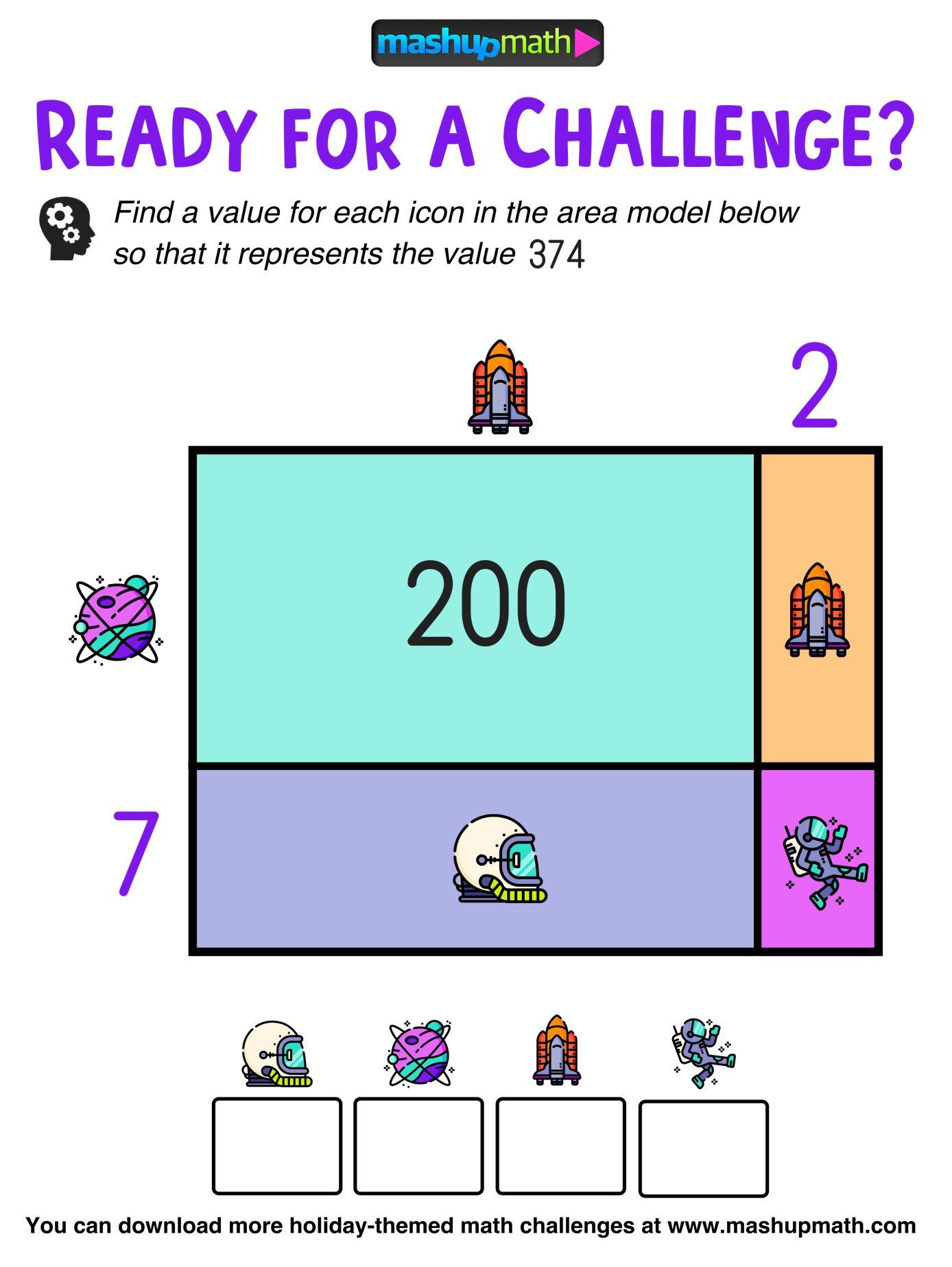 Math Challenge Math Talk Logic Problems [ 1846 x 1388 Pixel ]