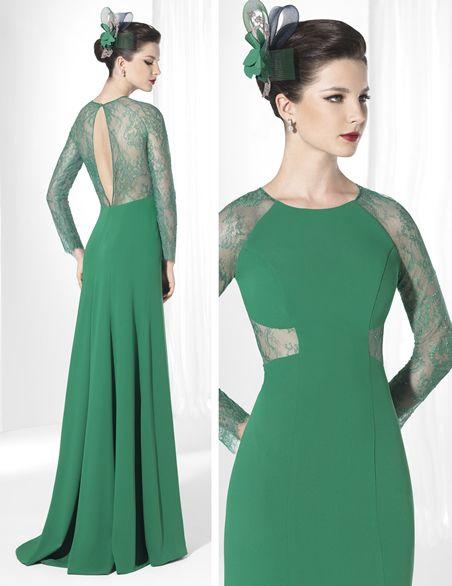 590ce9eb23 Vestidos de moda 2017 » Vestidos verdes 2015 4