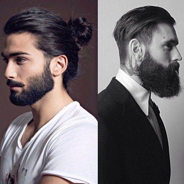 49++ Man bun with beard ideas