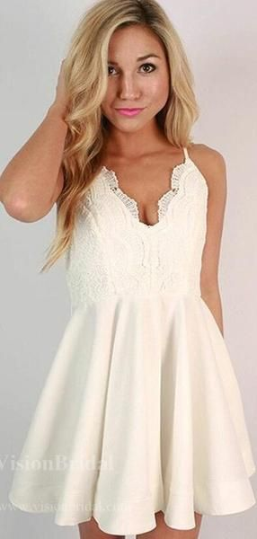 Charming Ivory Spaghetti Straps Lace Top Homecoming Dresses, 2019 Homecoming Dresses, VB02503 Charming Ivory Spaghetti Straps Lace Top Homecoming Dresses, 2019 Homecoming Dresses, VB02503 #lacehomecomingdresses Charming Ivory Spaghetti Straps Lace Top Homecoming Dresses, 2019 Homecoming Dresses, VB02503 #homecomingdresses #homecomingdresses2019 #homecomingdressesshort #homecomingdressespretty #homecomingdressesgorgeous #homecomingdressestight #graduationdresscollege