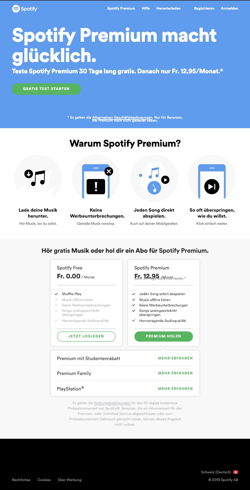 Pin Von Kristina Wagner Auf Online Service Product Pricing Pages Musik Anmelden
