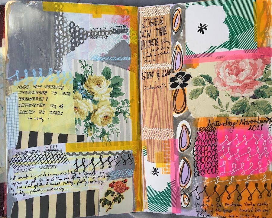 MARY ANN MOSS4 visual journal