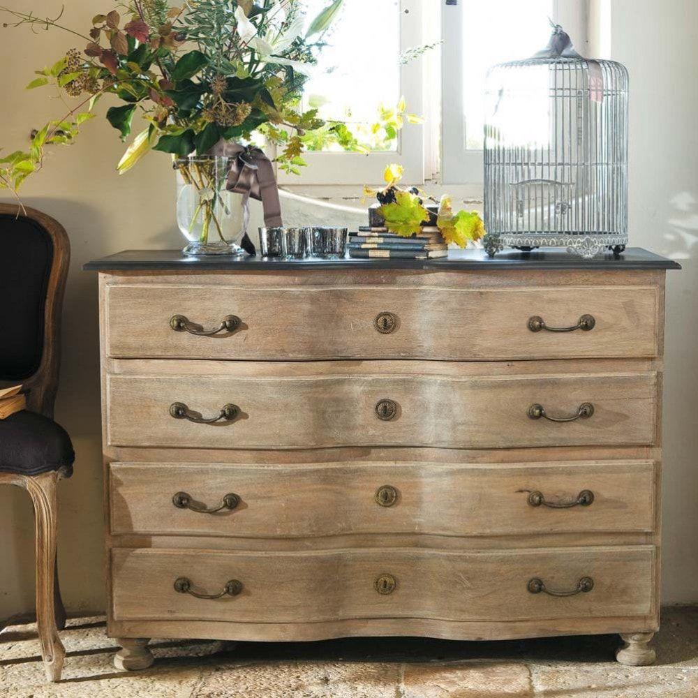 commode en manguier l 120 cm en 2019 meubles de salle de bains dresser chest of drawers et