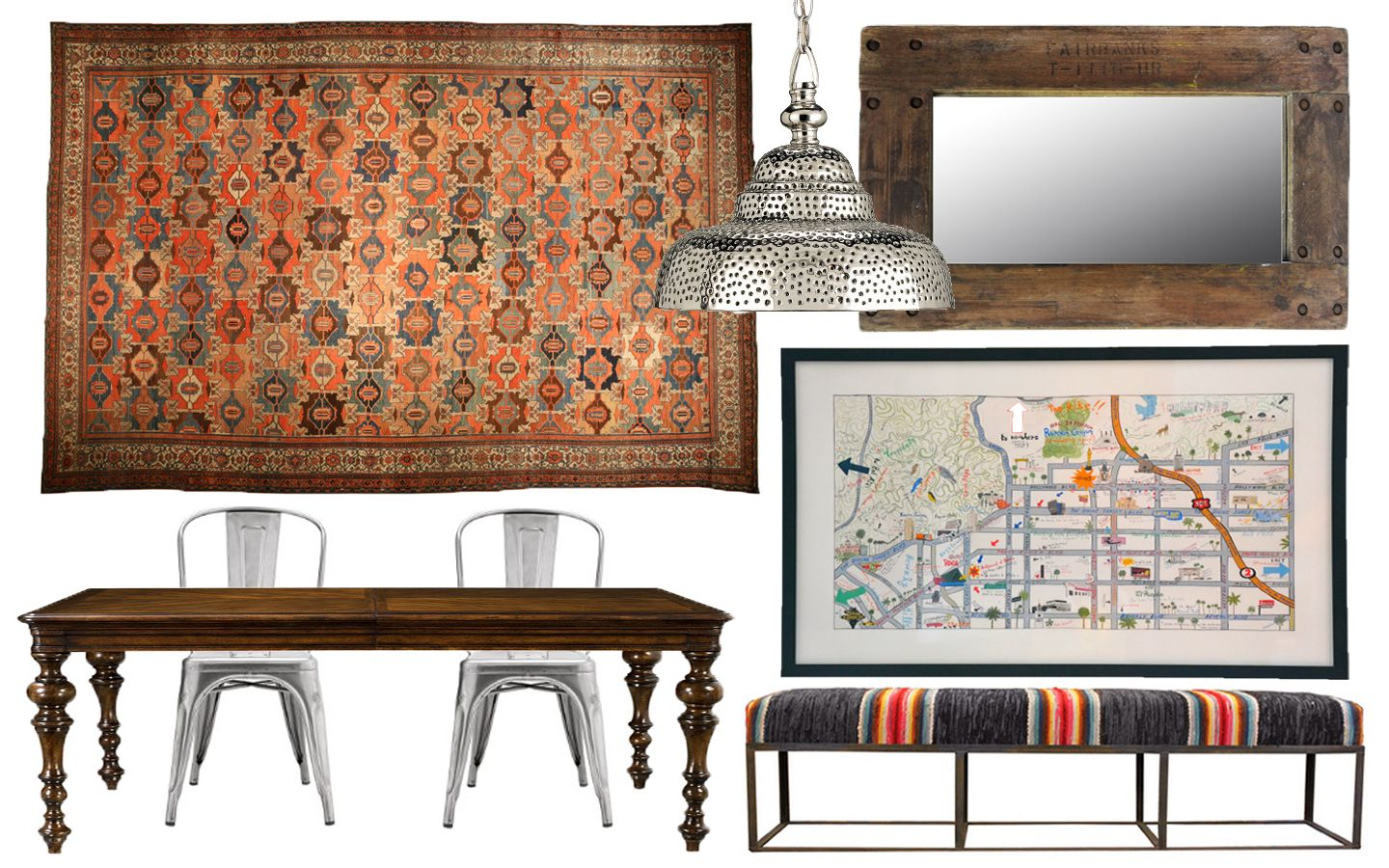 function of dining room | Eclectic Dual Function Dining Room/Office for Small City ...