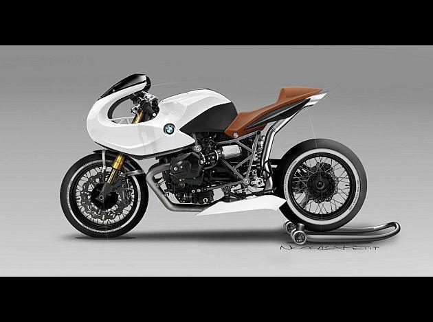 RocketGarage Cafe Racer: BMW HP2 cafe racer