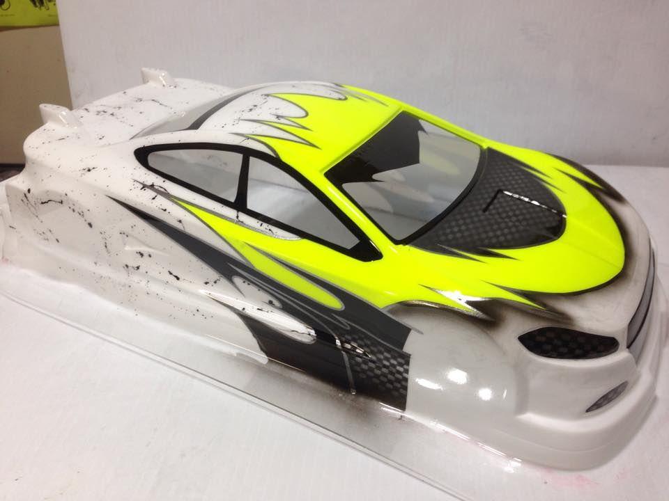 Yellow touring car | RC Cars Paint Jobs | Car paint jobs ...
