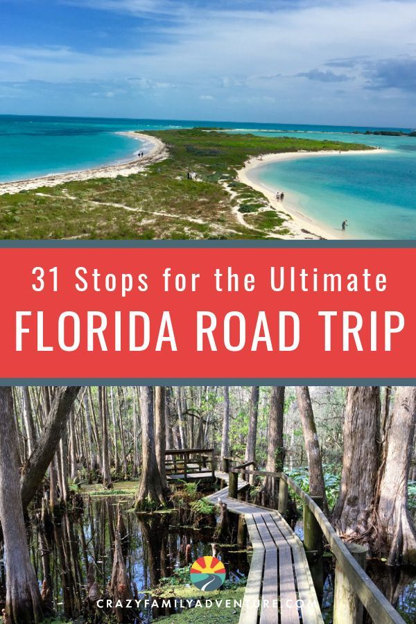 The Ultimate Florida Road Trip: 31 Places Not To Miss -   13 travel destinations Florida trips ideas