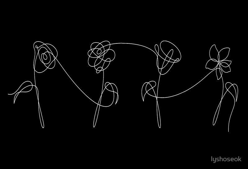 Bts Four Flowers White Bts Pinterest Bts Bts Jimin And Bts