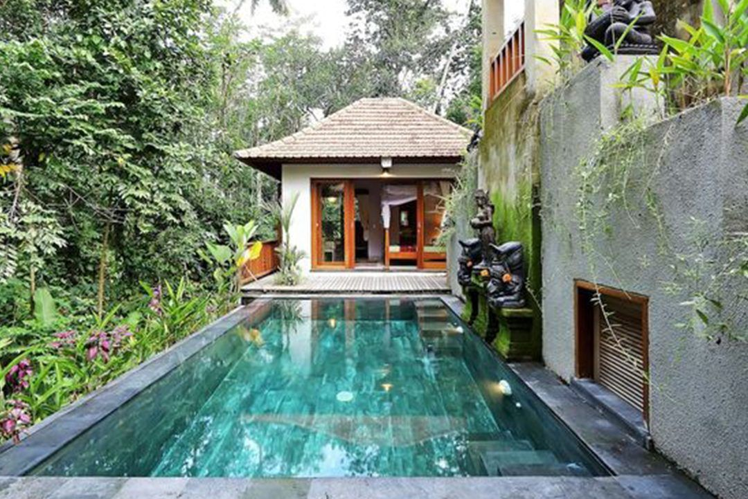 10 Luxurious Airbnb S In Asia All Under 100 Flying The Nest Villa Pool Ubud Luxury Swimming Pools