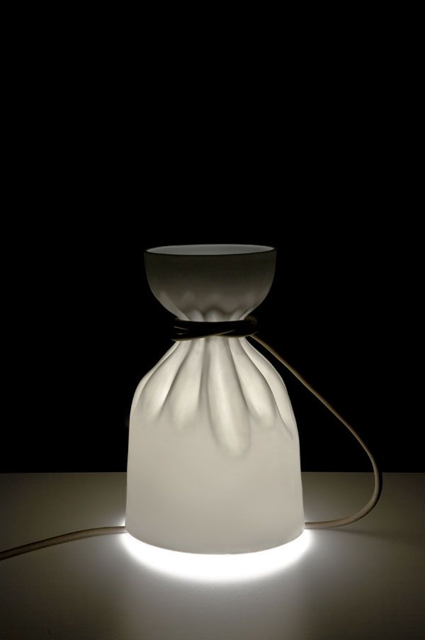 Previewed during the paris design week and now produced by triode edition crease by french