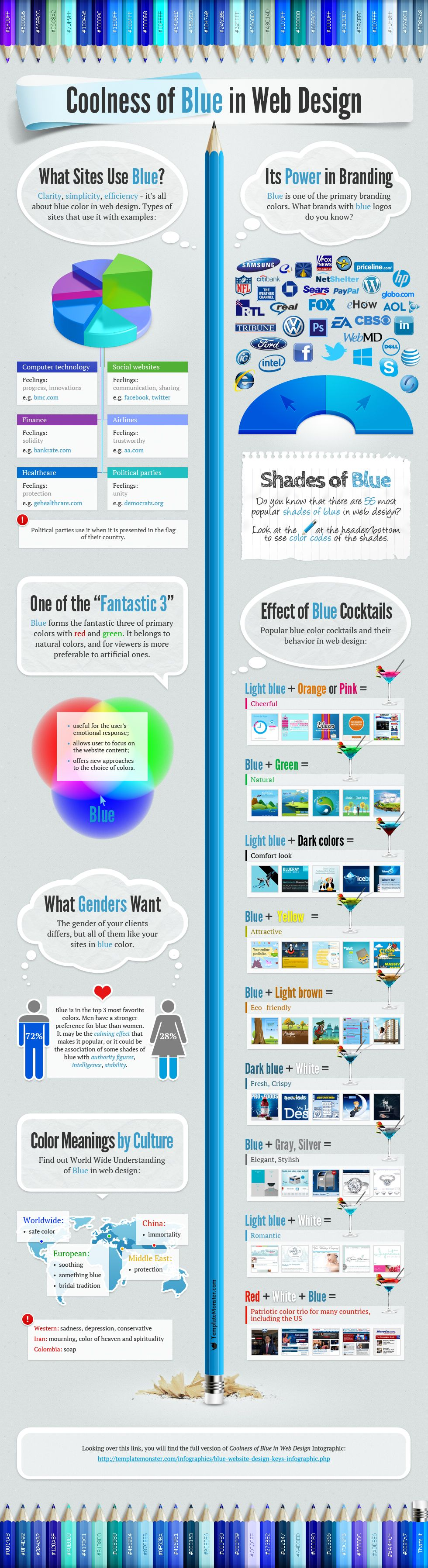 Colors web design psychology - I M Always Amazed By The Psychology Of Colors Especially In Design Glad