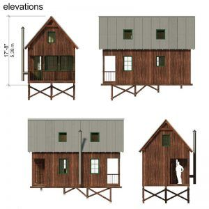 Best Small House Plans With Gable Roof G*Ng*R Small House 400 x 300