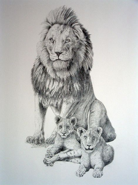 a3ab69bba Lion and her cubs | Animals I love | Lion cub tattoo, Lion tattoo, Lion