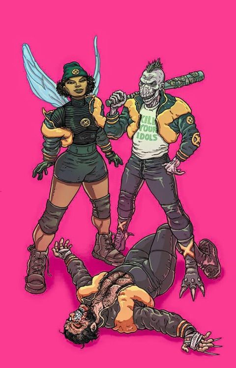 E Is For Extinction Vol 1 #2 Variant (2015) - Ramon VIllalobos