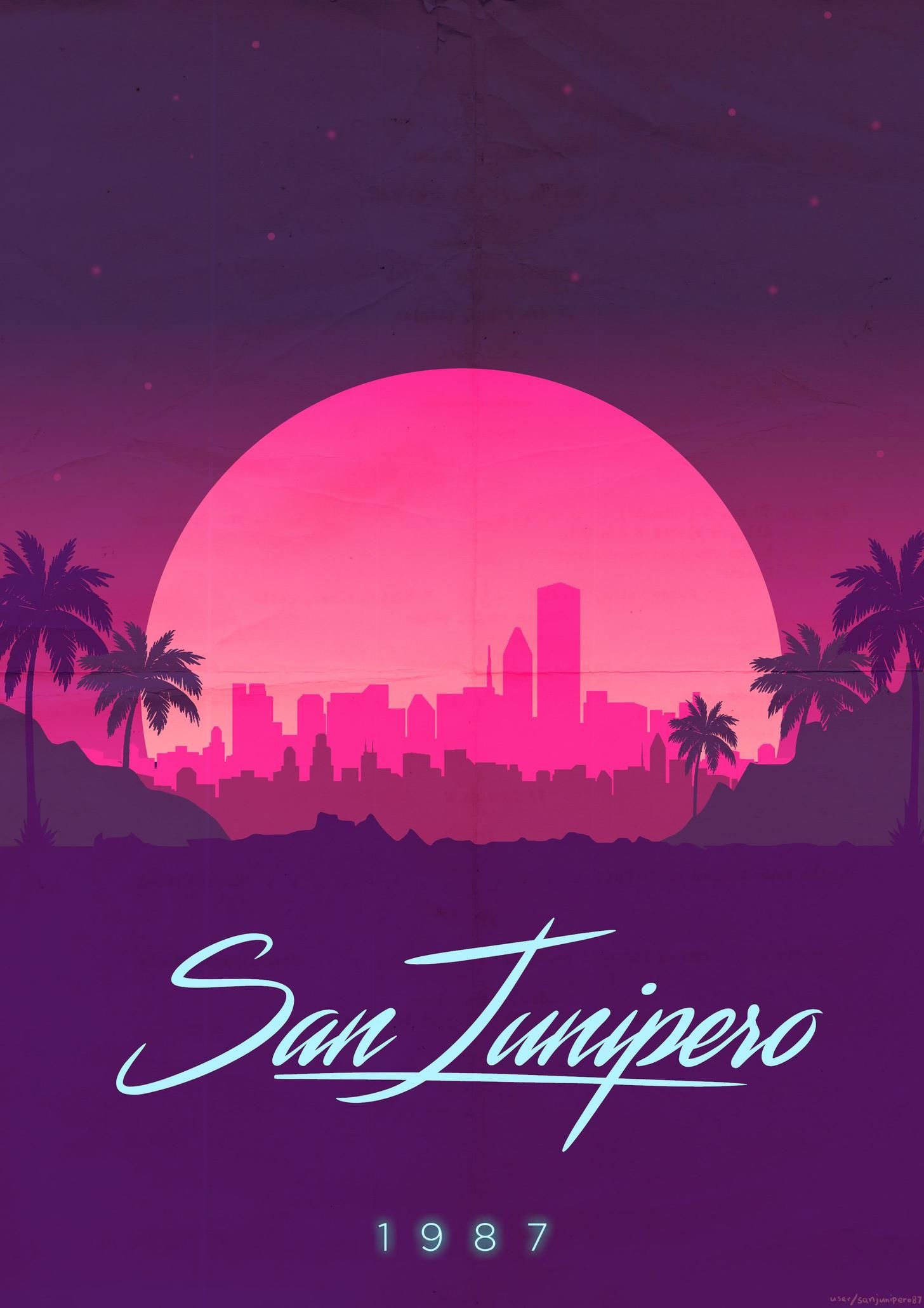 Posters I Made For San Junipero In 2019 Black Mirror San