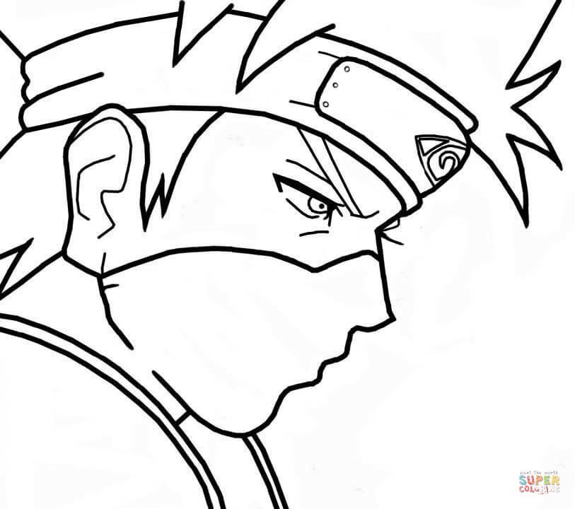 Dibujo De Kakashi Hatake De Naruto Para Colorear Dibujos Para Colorear Imprimir Gratis En 2020 Naruto Para Colorear Colorear Anime Naruto Para Dibujar