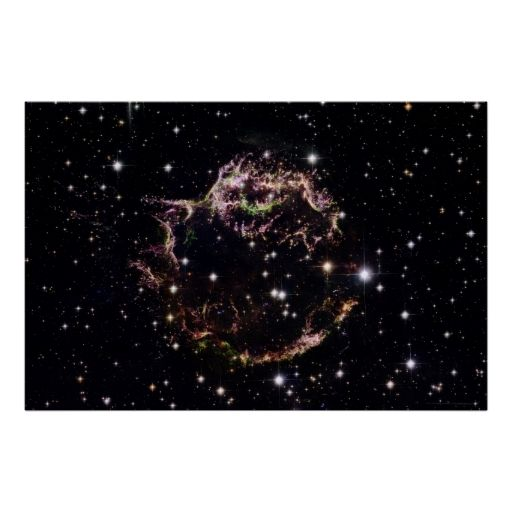 Supernova in Cassiopeia A 36x24 (35x23) Posters