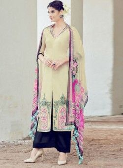 Buy Priyanka chopra beige and pink wedding salwar kameez in UK, USA and  Canada