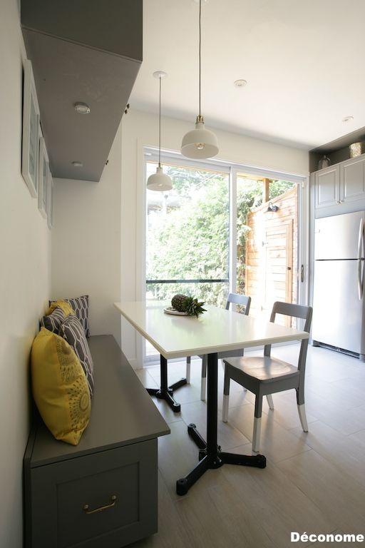 Mes 5 trucs pour le coin banquette de la cuisine | Projet Maison ...