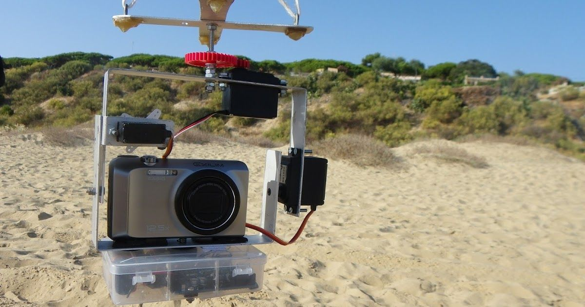 Construyendo un rig para KAP (Kite Aerial Photography)