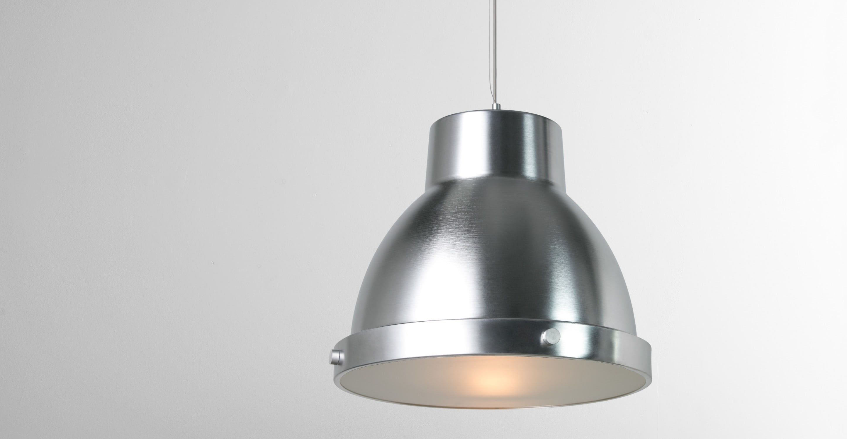 Lexington Pendant Light, Aluminium | made.com