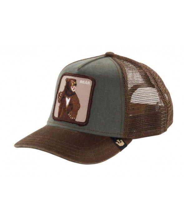de4fe6d54d1 Goorin Bros. Lone Star Trucker cap Olive -brown