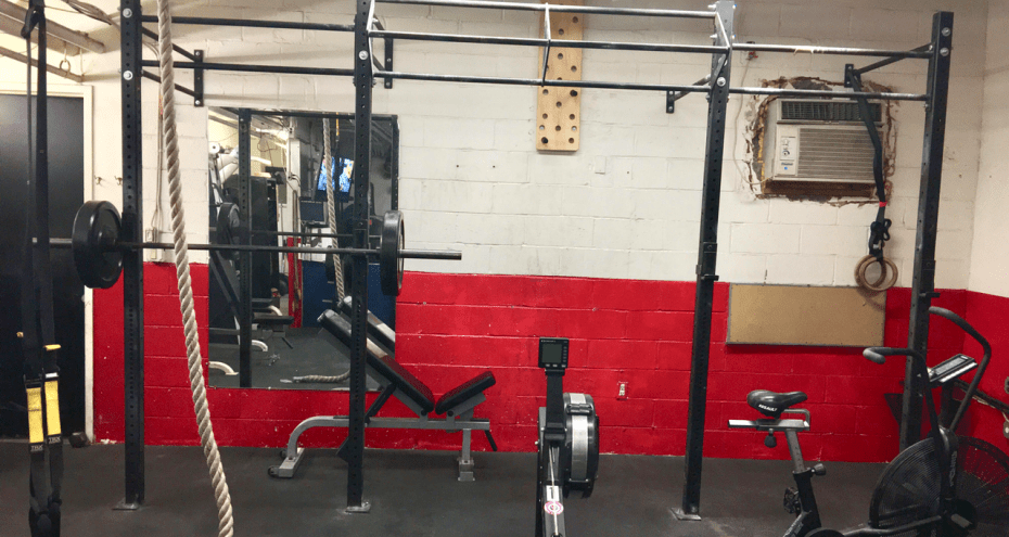 Professional fireman s home gym build the rock at home gym