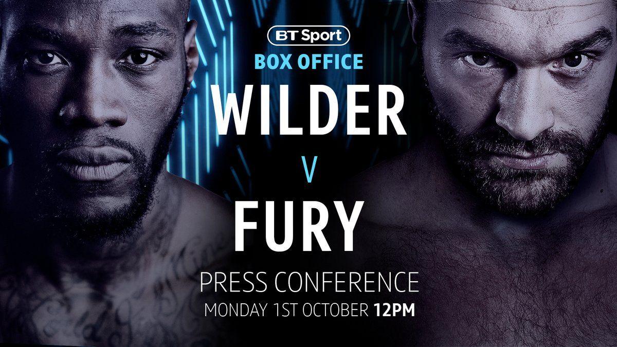Twitter Tyson fury, Deontay wilder, Hbo boxing
