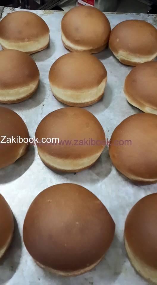 خبز البرجر الشهي زاكي Food Bread Hamburger Bun