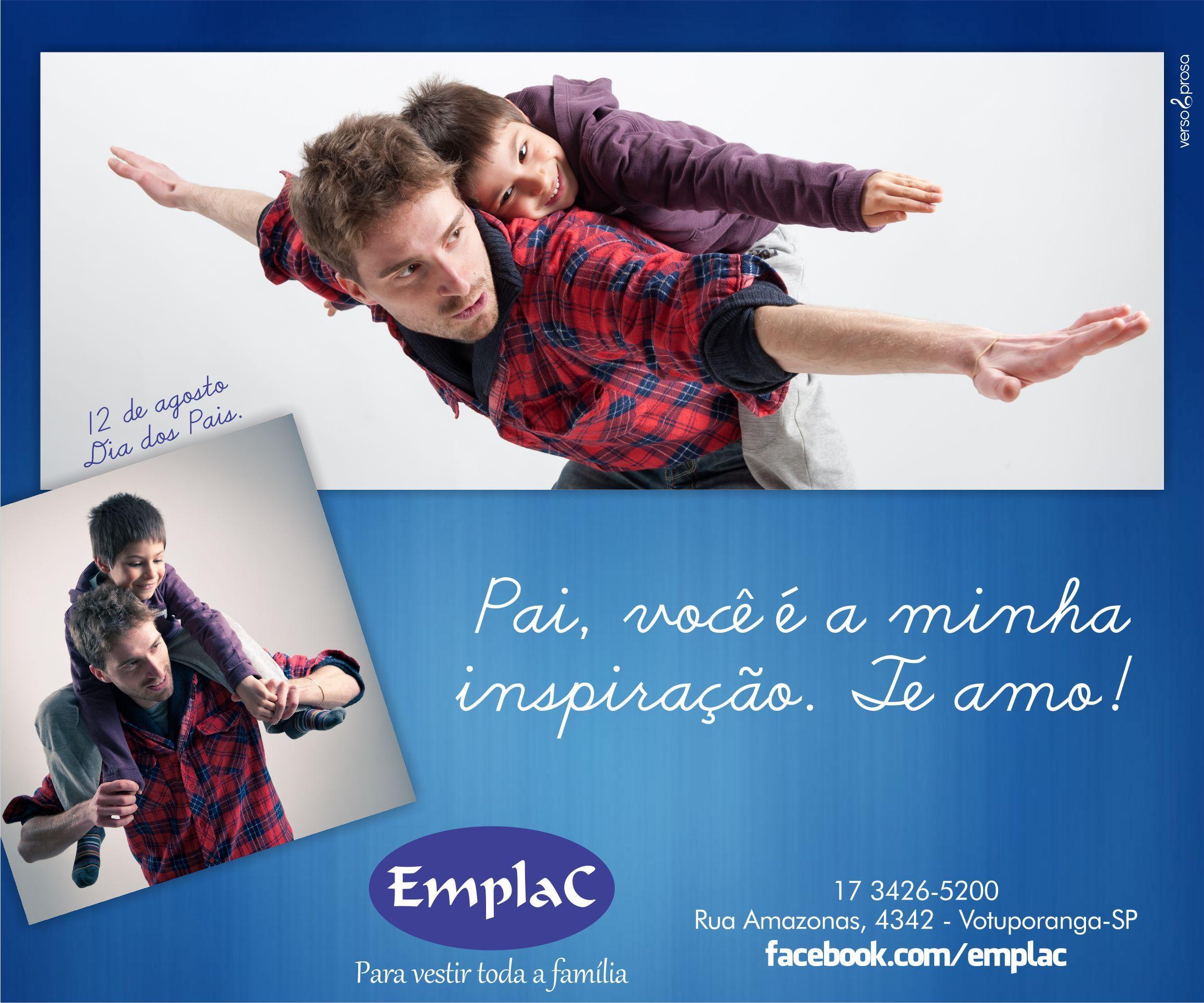 Anúncio Dia dos Pais - Emplac
