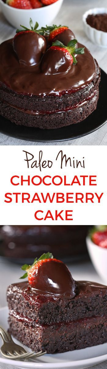This paleo chocolate strawberry cake has a great texture, chocolate fudge frosting and strawberry filling. With whole wheat and all-purpose flour options!