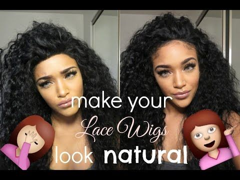 How I Make Lace Wigs Look Natural Rpgshow Els133 S Lace Wigs Diy Lace Wig Wigs