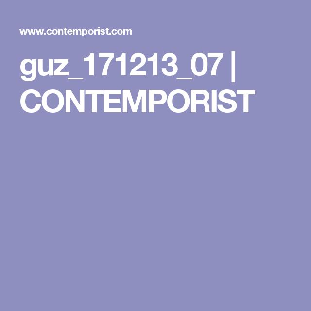 guz_171213_07 | CONTEMPORIST