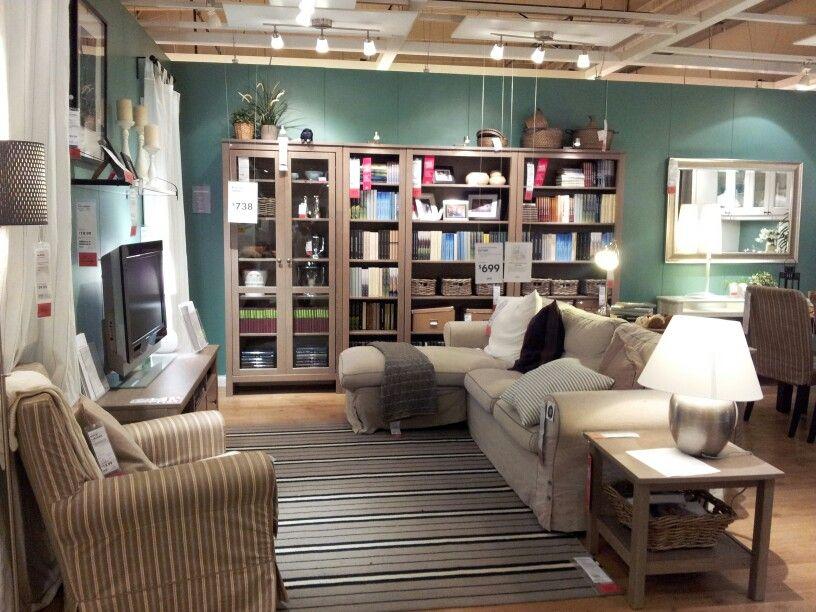 Ikea Showroom Living Room.